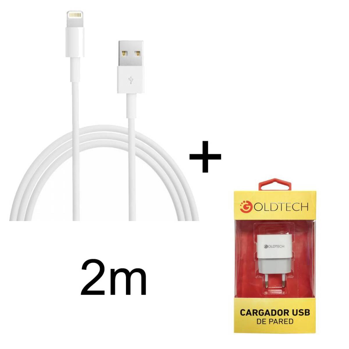 3650b5717e8 Cargador + cable de iphone fast charge 2 metros buena | worldmaster ...
